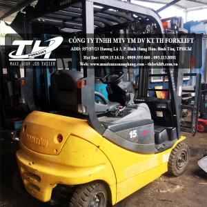 Xe nâng điện ngồi lái Komatsu FB15-12 2