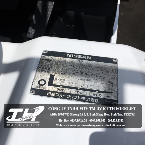 Xe nâng điện Nissan J1B1-000857 3